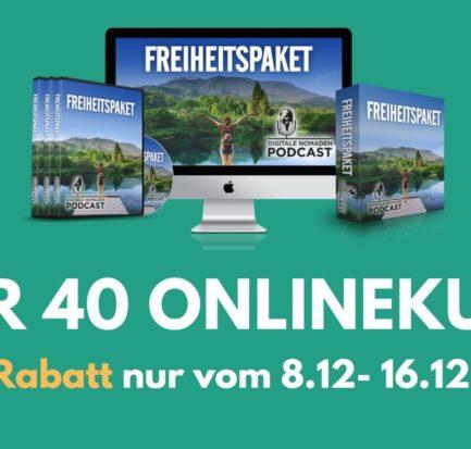 freiheitspaket digitale Nomaden online kurs